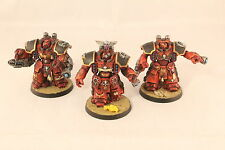 Warhammer Space Marine Blood Angels Centurions Well Painted