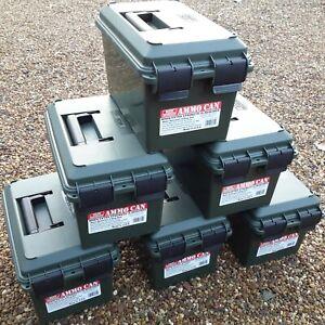 MTM CASE-GARD AC11 EMPTY AMMO CAN AMMO BOX HUNTING SHOOTING FISHING STORAGE BOX
