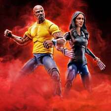 "(no Box)100 Hasbro Marvel Legends 10th 6"" Luke Cage & Claire Temple 2pk AU"