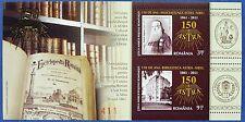 Rumänien Romania 2011 Tag der Briefmarke Bibliothek Bücher Block 507 MNH A: 800