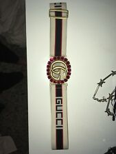 Gucci Double G Crystal Belt
