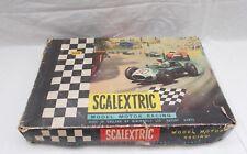 Vintage Tri-ang Scalextric Model Motor Racing Set No FJ.31 Formula Junior Cars