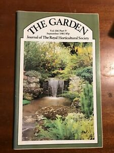 THE GARDEN VOL 106 PART 9 SEPT 1981 Journal Of The Royal Horticultural Society