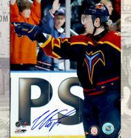 Ilya Kovalchuk Atlanta Thrashers Autographed 8x10