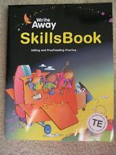 Great Source Write Away Skills Book Teacher's Edition Pb Editing Proofreading