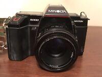 Minolta Maxxum 5000 Camera Body 50mm 1:1.7 Lens. Not Tested