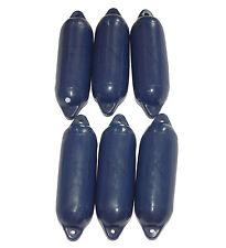 6 x Pare Battage Bleu Foncé 100 x 340 mm Neuf - Bateau