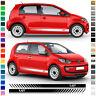 🔥Auto Seiten-Streifen Aufkleber-Set,Dekor-Sticker komp. mit VW Up - Wunschfarbe