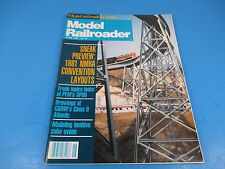 The Model Railroader Magazine June 1981, Sneak Preview: NMRA Convention Layouts