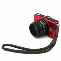 Army Green Canvas braided Hand Wrist Strap For Canon Leica Nikon Zeiss SonyJD090