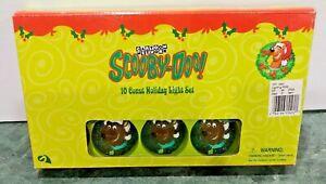 Christmas SCOOBY DOO 10 Count Holiday Light Set Cartoon Network NOS