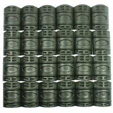 10 Pcs Universal 20mm Weaver Picatinny Rubber Rail Covers Hand Guard - Black