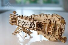 UGears - Hurdy Gurdy- 3DWooden Puzzles/Mechanical Models/Propelled Model