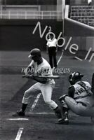 Aug 17 1965 Don Landrum Takes Cubs vs Reds Wrigley Field B&W Photo Negative 35mm