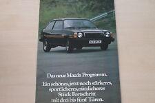 154907) Mazda 323 616 929 818 RX-5 Prospekt 09/1978