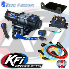 Kfi 3000Lb Winch Set And Mounting Kit fit Yamaha Grizzly 450 4x4 07-14
