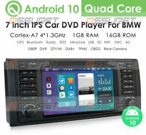 Android 10.0 BMW E53 E39 Car Stereo 5er X5 M5 DVD DAB+OBD2 DVR TV BT 4G Wifi SWC