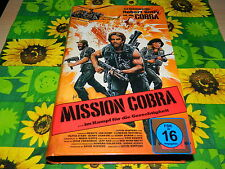 Mission Cobra - Robert Ginty - Cameron Mitchell - Olivia D`Abo - VPS Hardcover