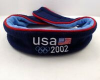 Roots Olympic Headband 2002 Navy Blue Red USA Flag One Size Polyester Canada