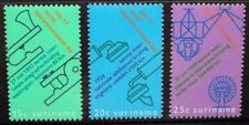 SURINAME 1971 World Telecommunications Day. Set of 3. MNH. SG697/699.