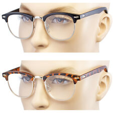 Unisex Reading Glasses Fashion Clear Full Lens Men Women Retro Vintage Style