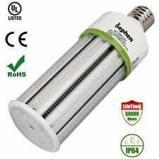 60W LED Corn Light Bulb E26 Replace 500W High Bay Metal Halide HPS Retrofit Kits