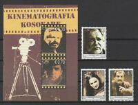 Kosovo De 2010 Ópticos Estampillas, Minr. 147-149 + Bloque 12 Film