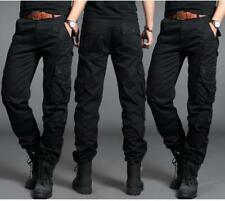 Mens Trendy Cargo OVerall Military Combat Tactical Casual Outdoor Pants Trousers
