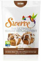 Swerve Sweetener Brown 12 Ounce Pack Sugar Replacement Bakers No Carbs Keto