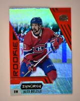 2020-21 UD Synergy Red Rookie #125 Alex Belzile RC - Montreal Canadiens