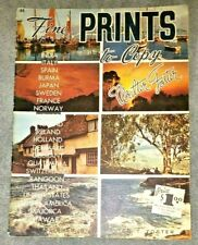 Fine PRINTS to Copy by Walter Foster  #48  32 pages to paint or frame
