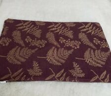 New listing 4 Dark Plum purple heavy duty placemats Floral