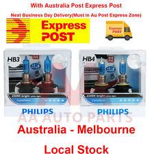 Philips HB3 HB4 Crystal Vision Package 9005 9006 4300k White halogen light