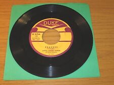 "BLUES 45 RPM - LITTLE JUNIOR PARKER - DUKE 177 - ""PEACHES""/""PRETTY LITTLE DOLL"""