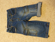 Sigikid kurze Hose Short Krempel Jeans gr 98