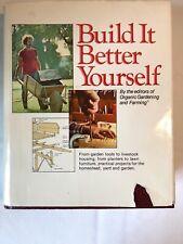 Build It Better Yourself Book With Original Blueprint Insert