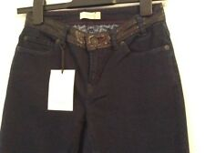BNWT 100% Auth Paul Smith, Ladies Jeands With Leather Waist. 26 RRP £240.00