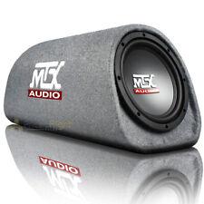 "Mtx Audio 8"" 240W Max Amplified Subwoofer Enclosure Tube Box Rt8Pt"