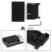Latest CNC Aluminum Alloy Case Enclosure Protect box For Raspberry Pi 4/4B Model