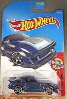 2017 Hot Wheels #337 Then and Now 4/10 MAZDA RX-7 Blue w/Pr5 Spokes Wheel