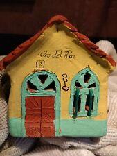 Miniature Clay House Made in Venezuela