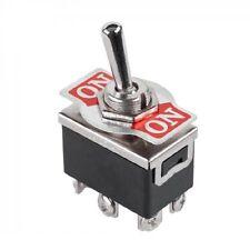 Kippschalter Wippschalter Wechselschalter einfach ON - ON  6A/250V 6polig (LP) -