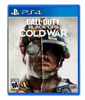 Call of Duty® Black Ops: Cold War for Sony Playstation 4 (NEW SEALED) Fast Ship