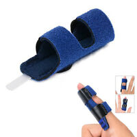 1Pcs Aluminum Trigger Finger Splint/Mallet Finger Brace For Straightening Curved