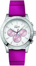 Women's Lacoste Charlotte Pink Silicone Strap Watch 2000941