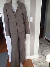 classiques entier sz 4, BLAZER, Ladies SUIT Jacket,pants 2 pc linen blend     f