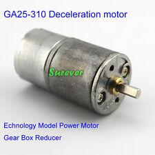 GA25-310 Deceleration motor Technology Model Power Motor Gear Box Reducer DC1-6V