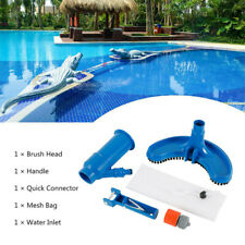 More details for swimming spa pool pond suction vacuum head brush cleaner fountain cleaning tool