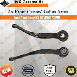 A Pair Front Lower Radius Castor Arm For Ford Territory TX SX SY 04-09