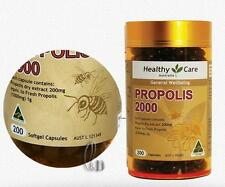 AU SELLER Healthy Care Propolis 2000mg 200 Capsules